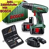 """Bosch Akkuschrauber PSR 14,4 mit 2. Akku und 46 tlg. Zubeh�rvon """"Bosch"""""""
