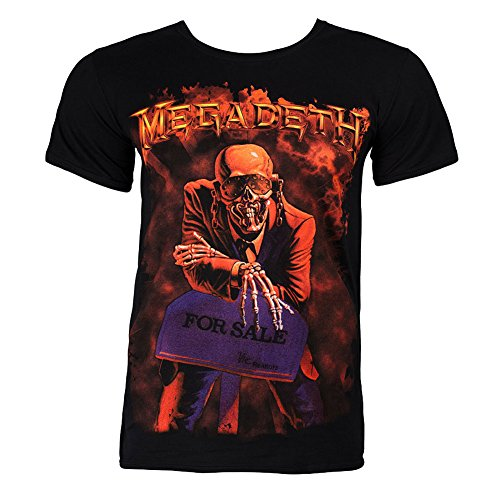 Uomo - Official - Megadeth - T-Shirt (S)