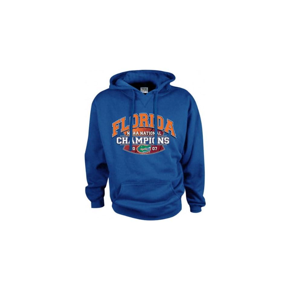 Florida Gators 2007 NCAA Basketball National Champions Blue Big Time Hooded Sweatshirt