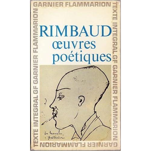 Oeuvres Poetiques, Rimbaud, Arthur