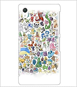 PrintDhaba Cartoon D-3827 Back Case Cover for SONY XPERIA Z2 (Multi-Coloured)