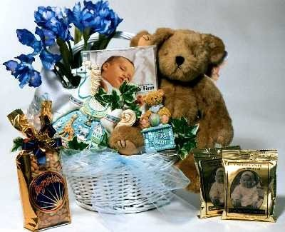 New Arrival, Baby Gift Basket (Large) front-59470