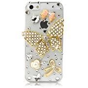 NOVA Case Glamour Bling Crystal iPhone Case iPhone 5 Pearl Butterfly