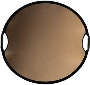 Sunbouncer Sun-Mover Zick-Zack gold/weiß - Rückseite weiß (nahtlos)