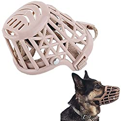 Futaba Dog Adjustable Basket Protection Mouth Cage - Large