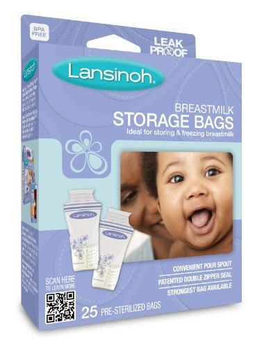 Breastmilk Storage Bags 20435 80858 5060062994353 By Lansinoh