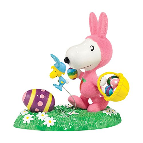 Department 56 Peanuts Its the Easter Beagle -- Snoopy Figurine