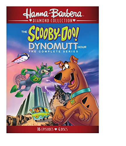 DVD : The Scooby-Doo/ Dynomutt Hour: The Complete Series (Repackaged, 2 Pack, 2 Disc)