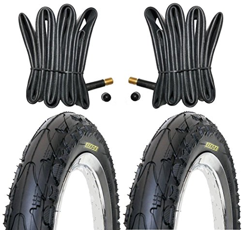 2x-Kenda-Fahrradreifen-18-Zoll-Reifen-18-x-175-47-355-inkl-2-x-Schlauch