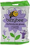 Bizzybee Multi Purpose Rubber Gloves Large (Pack of 6)