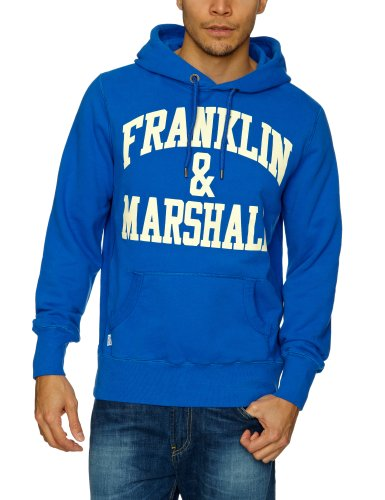 Franklin & Marshall FLMC028S13 Men's Sweatshirt Bluette X-Large