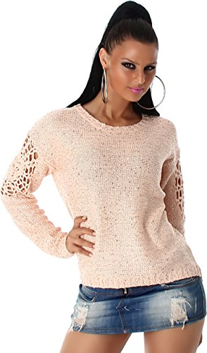 JELA London -  Maglione  - Basic - Maniche lunghe  - Donna pink Taglia unica