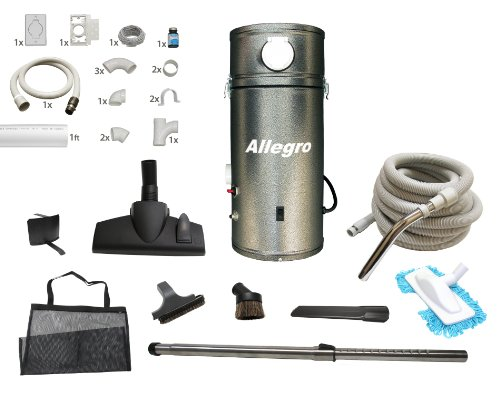 Allegro Central Vacuum 30 ft. Deluxe Package with 1 Inlet Installation Kit for RVs Campers Trailer Yacht (Motorhome Vacuum compare prices)