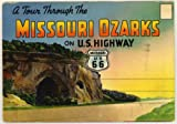 img - for Route 66 Tour Through the Missouri Ozarks (1940's Souvenir Postcard Folder) book / textbook / text book