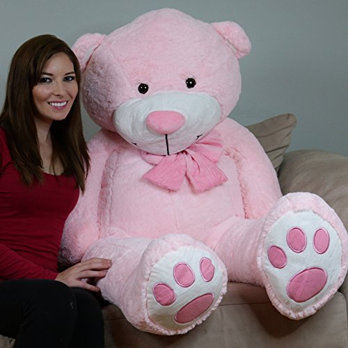 Yesbears5ft.Giant Pink Teddy Bear (Big Bear Chair compare prices)