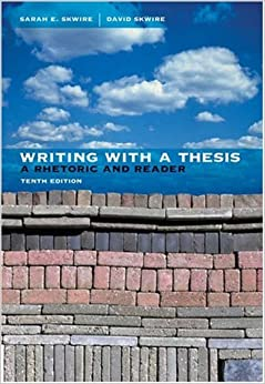 writing with a thesis a rhetoric and reader 9th edition Free ebook pdf patterns for college writing: a rhetorical reader and guide, 12th edition do you want to search free download patterns for college writing: a rhetorical reader and guide, 12th edition or free read online patterns for college writing: a rhetorical reader and guide, 12th edition.