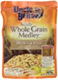 Uncle Ben's Ready Rice, Whole Grain Medley, Brown & Wild Rice, 8.5-Ounce Packages (Pack of 12)