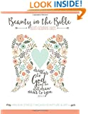 Beauty in the Bible: Adult Coloring Book