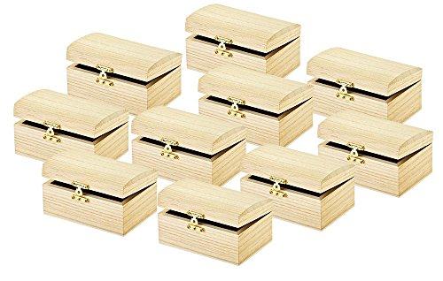 Holztruhe-10-Stck-Truhe-aus-Holz-dekorieren-Kstchen-zum-Verschenken