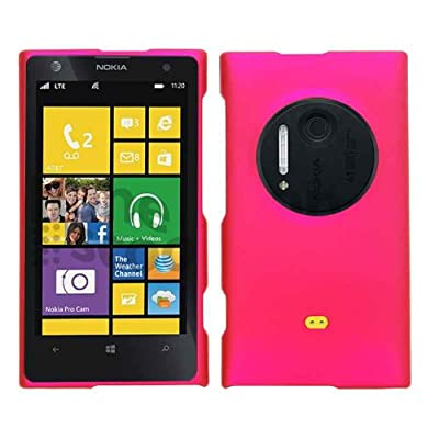 Cell Armor Nokia Lumia 1020 Snap Case - Carrying Case - Retail Packaging - Rubberized Honey Hot Pink by Cell Armor