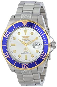 buy Invicta Men'S 13788 Pro Diver Silver Dial Stainless Steel Automatic Watch
