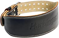 Harbinger 284 4-Inch Padded Leather Lifting Belt