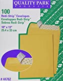 Quality Park 44762 Quality Park Redi-Strip Catalog Envelopes, 10x13, 28lb, Kraft, 100/Box
