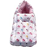 Sleeping Bag Cum Baby Carry Bag (Pink) | 3 In 1 Baby Bed Cum Bedding Set/ Baby Carrier/ Sleeping Bag