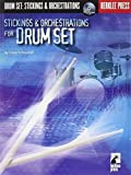 STICKINGS AND ORCHESTRATIONS FOR DRUM SET BK/CD BERKLEE PRESS by Casey Scheurell (2007-01-01)