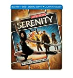 Serenity (Steelbook) (Blu-ray + DVD + Digital Copy + UltraViolet)