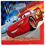 Disney Cars Lunch Napkins, 16ct