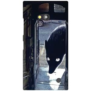 Nokia Lumia 730 Back Cover - Big Eyes Designer Cases