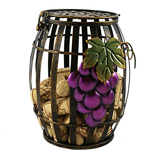 Rustic Decorative Wine Barrel Cork Cage