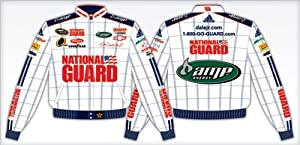 DALE EARNHARDT JR WHITE N.GUARD YOUTH JACKET by RacingGifts