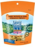 Natural Balance L.I.T. Limited Ingredient Small Breed Dog Treats, Grain Free, Sweet Potato & Fish Formula, 8 oz (Packaging May Vary)
