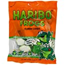 Haribo Gummi Candy, Frogs, 5-Ounce Bags (Pack of 12)