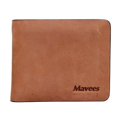 Mavees Leather Bi-Fold Money Clip Wallet For Men MA429327-58