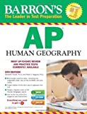 img - for Barron's AP Human Geography with CD-ROM, 5th Edition by Marsh Ph.D., Meredith, Alagona Ph.D., Peter S. (2014) Paperback book / textbook / text book