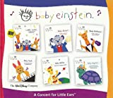 Baby Einstein Music CD Box Set - A Concert For Little Ears (Baby Mozart, Baby Beethoven, Baby Bach, Baby Galileo & Baby Neptune) **BONUS - LULLABY CLASSICS BONUS CD**