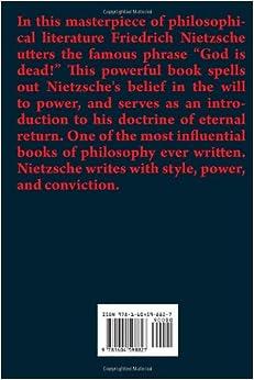 thus spoke zarathustra pdf free download
