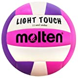 Molten MS240-VP  Light Touch Volleyball, Purple/Pink