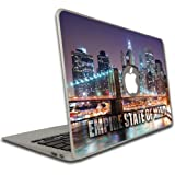 Macbook Air (11 Inch) Vinyl Removable Skin - Empire State Of Mind - New York City