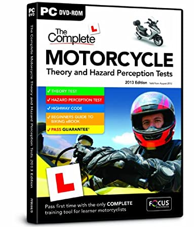 Complete Motorcycle Theory and Hazard Perception Tests 2013 (PC)