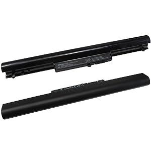 Baturu 4CELL VK04 NoteBook Battery for HP Pavilion Sleekbook 14 15 15-B142DX 15T-B100 15-B129WM 15-B153NR, fit for 695192-001 694864-851 H4Q45AA HSTNN-YB4D HSTNN-YB4M (Color: Black, Tamaño: 4 Cell)
