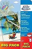 Avery Zweckform 2497-40 Superior Inkjet Fotopapier 40 Blatt