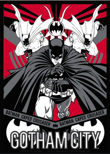 Licenses Products DC Comics Batman Gotham City Sticker