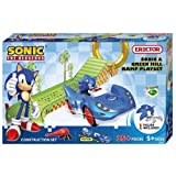 Meccano Sonic the Hedgehog and Green Hill Ramp Playset