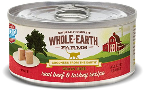 Whole Earth Farms Grain Free Real Beef & Turkey Recipe (Paté)