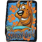 """Kids Fleece Throw Blankets 50"""" x 60"""" Several Options - Scooby Doo"""