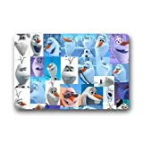 Custom Disney 3D Cartoon Frozen Olaf Picture Doormat 23.6x15.7IN